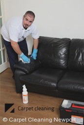 Professional Leather Cleaning Company in Newport 3015