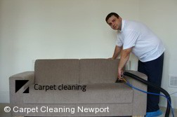 Upholstery Cleaning in Newport
